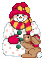 Bunny And Snowman