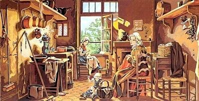 Scene d 39 interieur de seg de paris petit point broderie for Scene d interieur blois