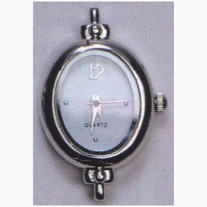 horloge ovale de marianne hobby bijoux e pailettes d corations papier couleurs casa cenina. Black Bedroom Furniture Sets. Home Design Ideas
