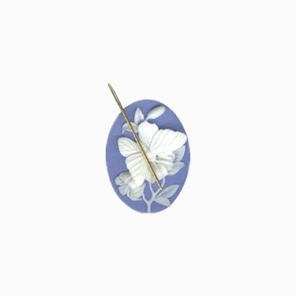 1 Pendentif perle Rond LEOPARD argenté 36mm DIY création bijoux B146