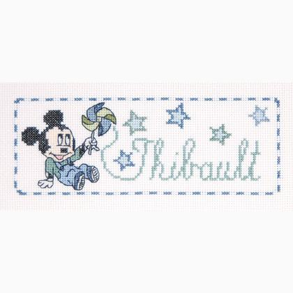 Disney Baby: Etiquette Mickey de DMC - Disney© - Kit au ...