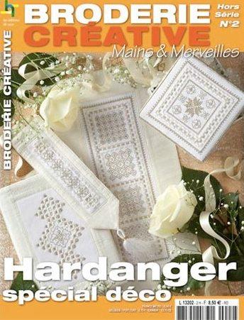 hardanger sp cial d co broderie cr ative hs n 2 de les dition de saxe livres et revues. Black Bedroom Furniture Sets. Home Design Ideas