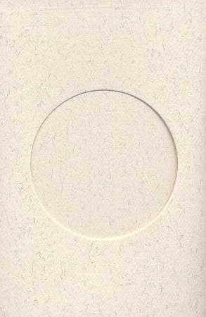 carte avec fen tre ronde parchemin de yarntree pour toi pour tout le monde broderie casa. Black Bedroom Furniture Sets. Home Design Ideas