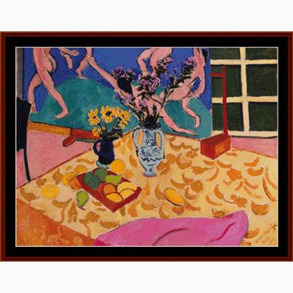 Matisse Nature Morte Avec La Dance De Cross Stitch