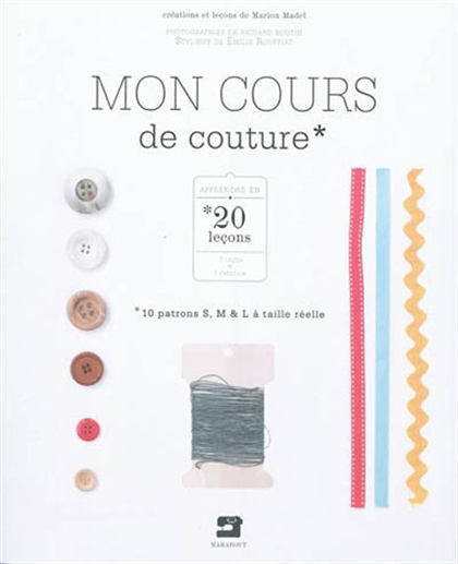 Mon cours de couture de marabout livres et revues - Mon cours de cuisine marabout ...