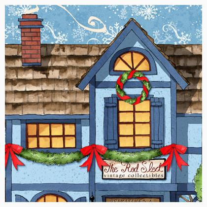 All around the town craft panel multi de wilmington prints for Self tissus nancy