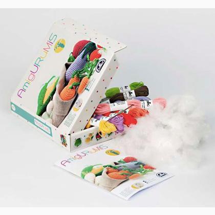 Kit Pour Amigurumi : Kit Amigurumi - Fruits et Lgumes de DMC - Kit - Tricot et ...