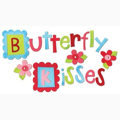 Sizzix Bigz Alphabet Set 4 Dies Butterfly Kisses De