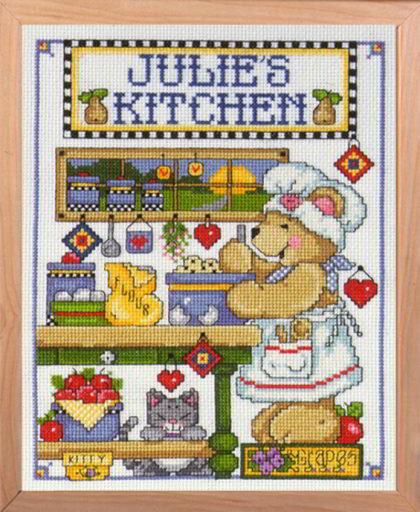 Kitchen De Design Works Crafts Broderie M Lange Kit Au Point De Croix Kits Casa Cenina