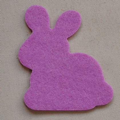 Lapin Billy - Mauve clair