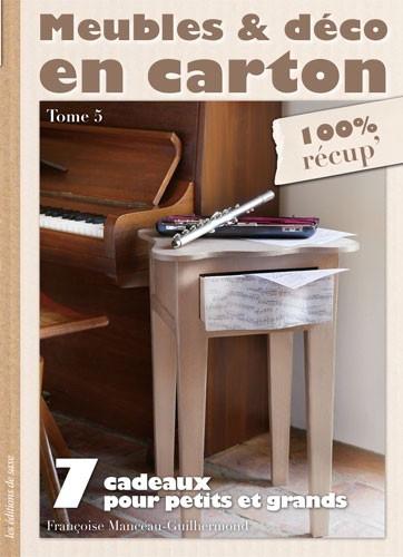 meubles d co en carton tome 5 de les dition de saxe livres et revues livres et revues. Black Bedroom Furniture Sets. Home Design Ideas