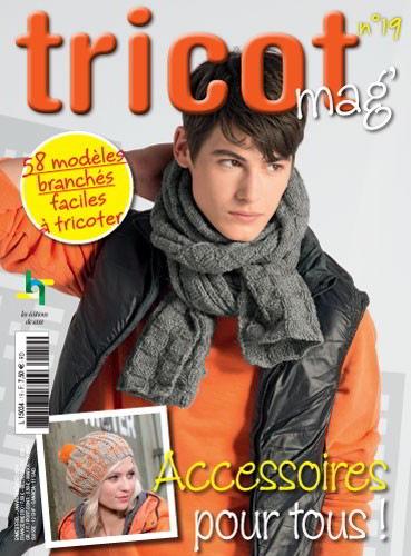 Tricot mag n° 19 - Accessoires pour tous de Les édition de saxe ... b3b48f7427b2