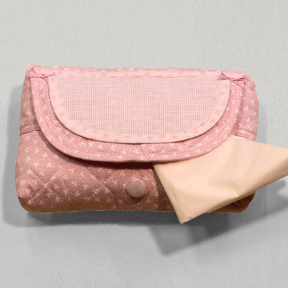 porte serviette rose de filet enfants supports broder casa cenina. Black Bedroom Furniture Sets. Home Design Ideas