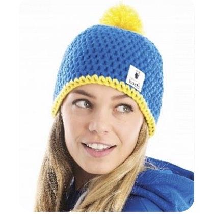 Mon Boshi Kit Bonnet Bleujaune De Dmc Kit Tricot Et Crochet