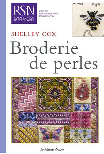 broderie de perles de les dition de saxe livres et. Black Bedroom Furniture Sets. Home Design Ideas