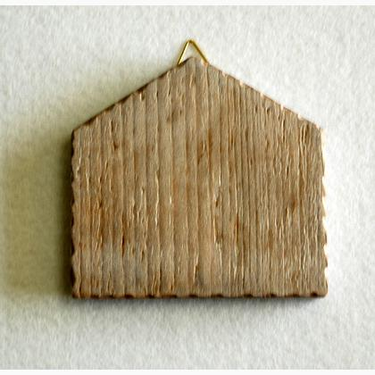 panneau mini maison en bois de casacenina accessoires et mercerie accessoires et mercerie. Black Bedroom Furniture Sets. Home Design Ideas