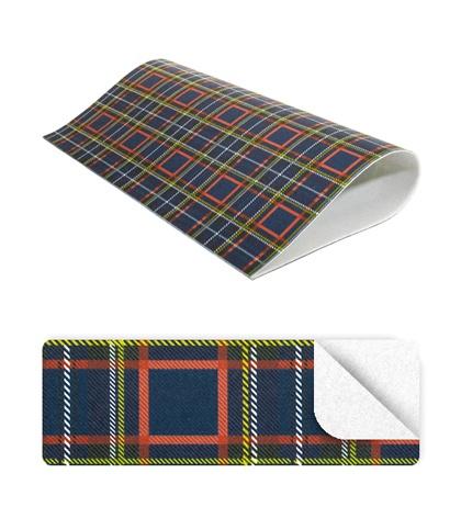 Feutre 2mm tartan 50x90 bleu sur blanc de miola feutre tissus toiles et bords casa cenina - Enlever feutre sur tissu ...