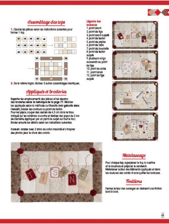 Quilts en cuisine de les dition de saxe livres et - Edition de saxe ...