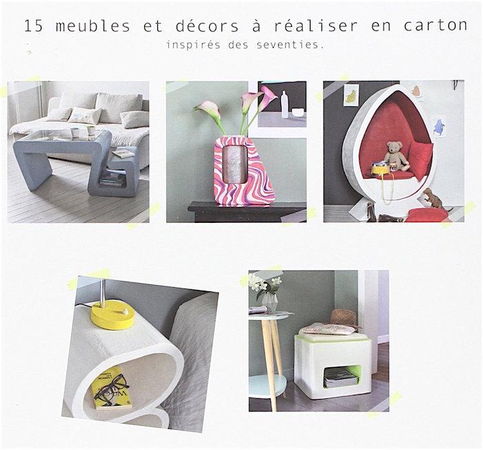 meubles en carton recycler pour une d coration durable de editions tutti frutti livres et. Black Bedroom Furniture Sets. Home Design Ideas