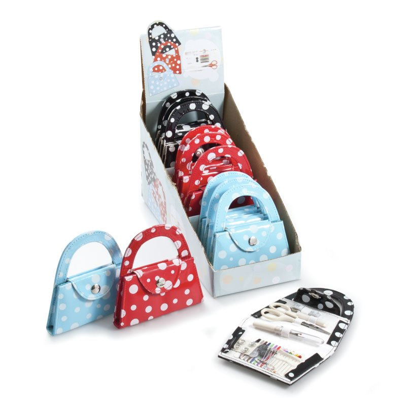 Petit sac kit couture rouge de groves and banks for Kit boite a couture