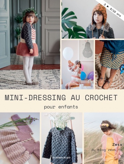 mini dressing au crochet pour enfants de les dition de saxe livres et revues livres et. Black Bedroom Furniture Sets. Home Design Ideas