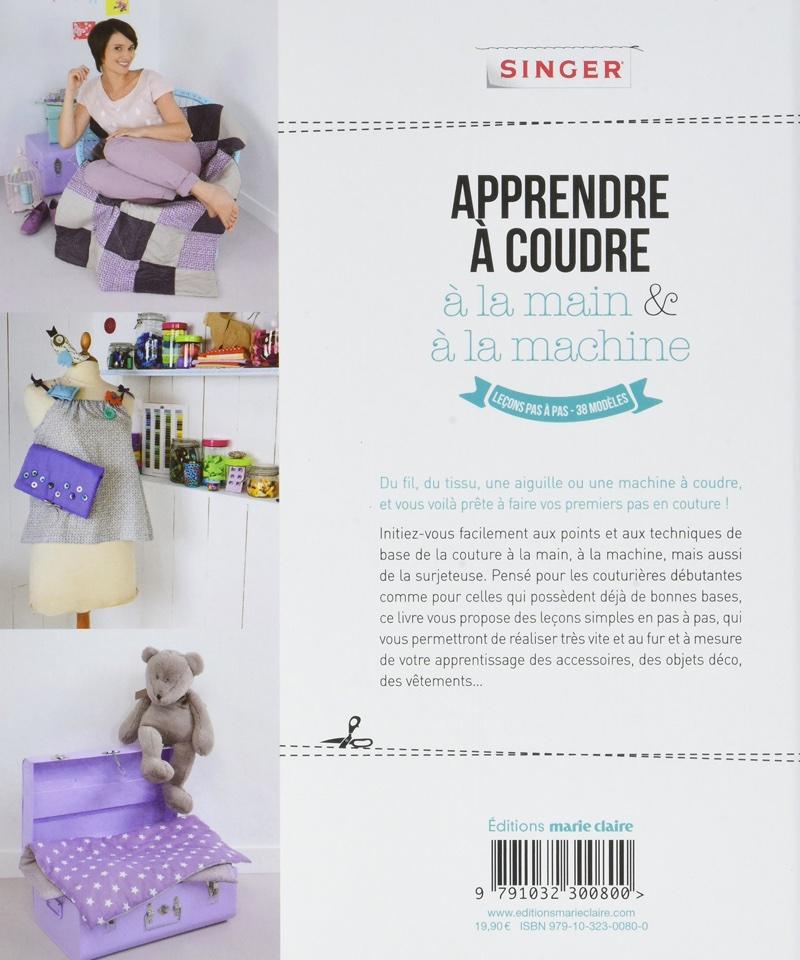 apprendre coudre la main et la machine de marie claire livres et revues livres et. Black Bedroom Furniture Sets. Home Design Ideas