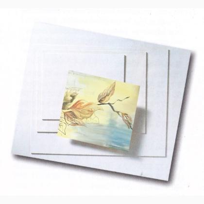 Carton à Peindre Rectangle 13x50cm De Marianne Hobby Pour La