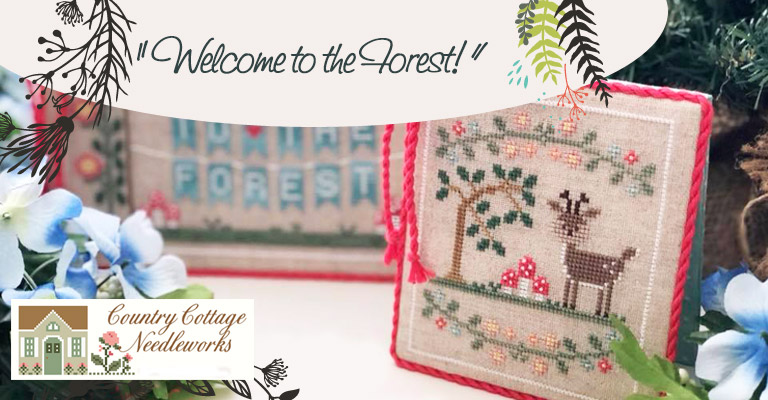 Sept mois avec Country Cottage Needleworks