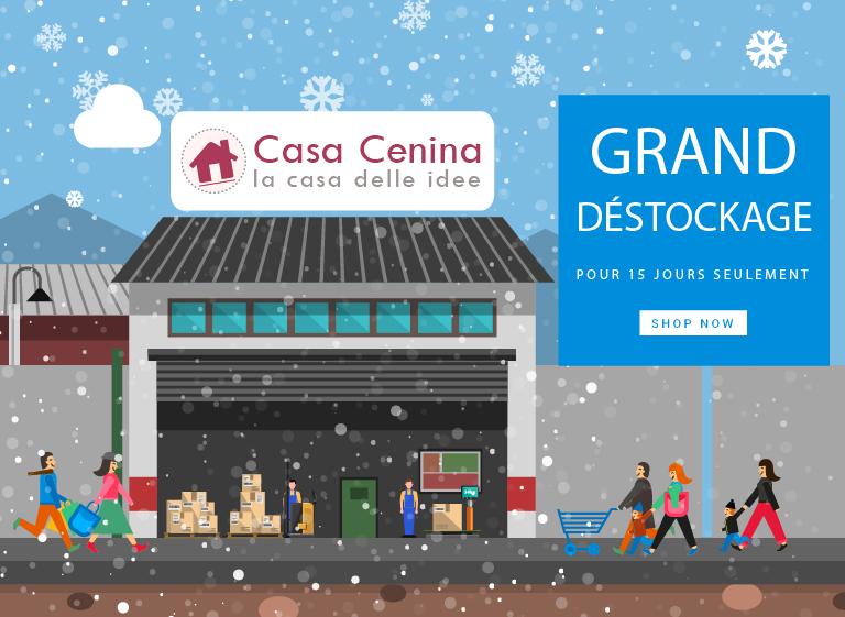 GRAND DÉSTOCKAGE : Chez Casa Cenina nous faisons de la place !